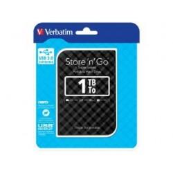 """Dysk zewnętrzny Verbatim 1TB Store 'n' Go 2.5"""" czarny USB 3.0 GEN 2"""