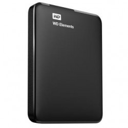 Dysk WD Elements Portable 1TB USB3.0/USB2.0 Black