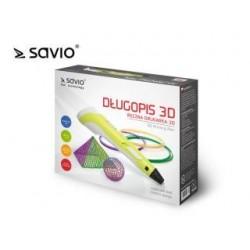 Drukarka 3D ręczna Savio DRP-040 Creative Design z zestawem filamentów PLA 3x3m