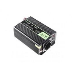 Przetwornica samochodowa Green Cell 12V do 230V, 300W/600W