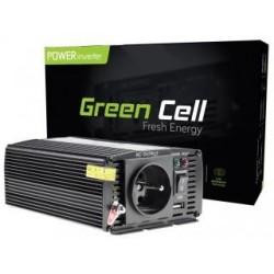 Przetwornica samochodowa Green Cell 24V do 230V 300W/600W
