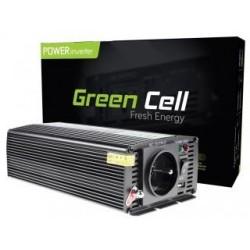 Przetwornica samochodowa Green Cell 12V do 230V, 500W/1000W