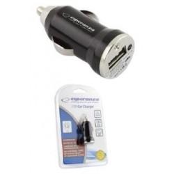 Ładowarka samochodowa Esperanza EZ106 1x USB 1000mA