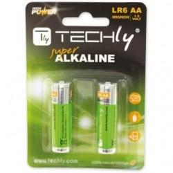 Baterie alkaliczne Techly IBT-KAL-LR06-B2T 1,5V AA LR6 2szt.