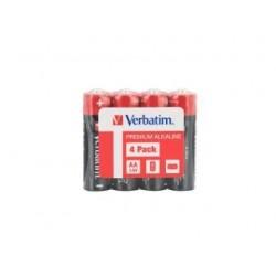 Bateria Verbatim LR6 AA (4 szt) shrink