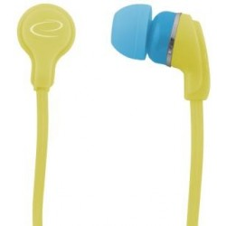 Słuchawki Esperanza EH147Y Neon żółte