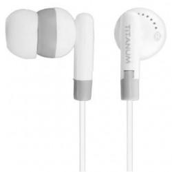 Słuchawki Titanum TH103 biało-szare