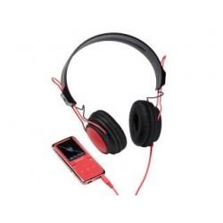"""Odtwarzacz MP4 Intenso 8GB Scooter LCD1.8"""" różowy + słuchawki"""