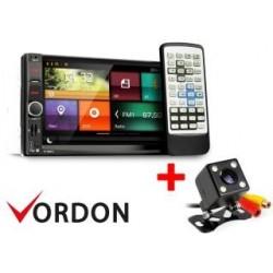Zestaw radio Vordon HT-869V2 ( micro) + Kamera cofania 4SMDPL