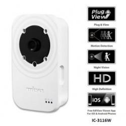 Kamera IP Edimax IC-3116W 720P ICR WiFi N 1xLAN Tryb Nocny