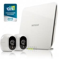 System monitoringu Netgear Arlo Wire-Free z 2 kamerami HD 720p WiFi