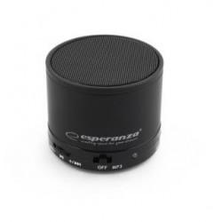 Głośnik Bluetooth Esperanza Ritmo Czarny EP115K