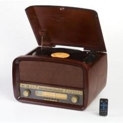 Gramofon Camry z CD/MP3/USB/nagrywaniem CR 1112