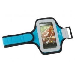 Opaska sportowa Natec X3 na ramię do smartfona blue