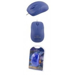 Mysz przewodowa Titanum 3D AROWANA TM109B optyczna niebieska