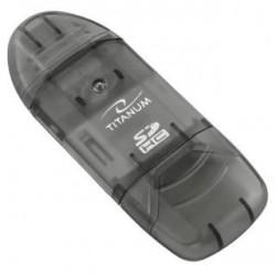 Titanum Czytnik Kart SDHC/MicroSDHC TA101K (SDHC Pen Drive)