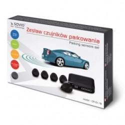 Czujnik parkowania, buzzer SAVIO CP-01/B, czarny