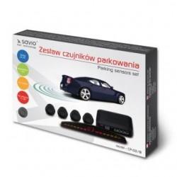 Czujnik parkowania, wyświetlacz SAVIO CP-02/B, czarny