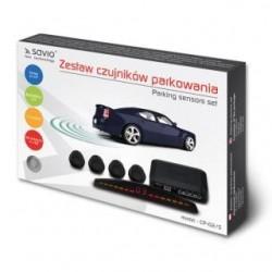 Czujnik parkowania, wyświetlacz CP-02/S, srebrny