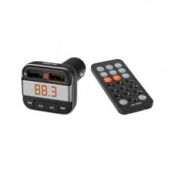 Transmiter FM Acme F330 Bluetooth z ładowarką USB i pilotem