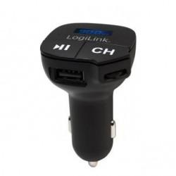 Transmiter LogiLink FM0004 FM z MP3 i gniazdem microSD