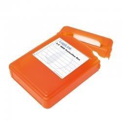 """Pudełko ochronne na HDD LogiLink UA0133 3,5"""" pomarańczowe"""