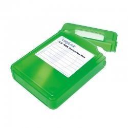 "Pudełko ochronne na HDD LogiLink UA0133 3,5"" zielone"