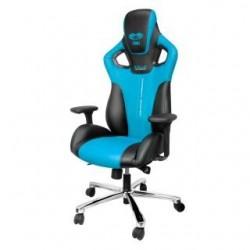Fotel Gaming E-Blue COBRA - czarno - niebieski