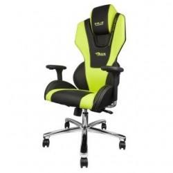Fotel Gaming E-Blue MAZER - czarno - zielony