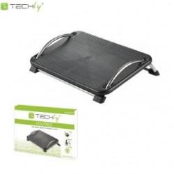 Podnóżek ergonomiczny Techly ICA-FR 13 z regulacją kąta pochylenia, czarny