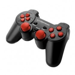 """Gamepad PC USB Esperanza """"Warrior"""" czarno/czerwony"""