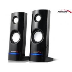 Głośniki Audiocore AC860 komputerowe 8W USB, czarne