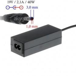 Zasilacz sieciowy Akyga AK-ND-22 do notebooka 19V/2,1A 40W 3.0x1.0 mm
