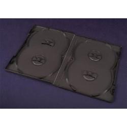 Pudełko Esperanza na 4 DVD 14mm 3066 czarne