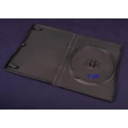Pudełko Esperanza na 1 DVD 14mm 3 pin 3109 czarne