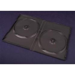 Pudełko Esperanza na 2 DVD 14mm 3010 czarne