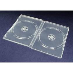 Pudełko Esperanza na 2 DVD 14mm 3082 bezbarwne