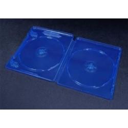 Pudełko Esperanza na 2 BDR 12mm BLU-RAY 3105 niebieskie