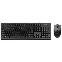 Zestaw przewodowy klawiatura + mysz A4Tech KR-85550 USB czarny