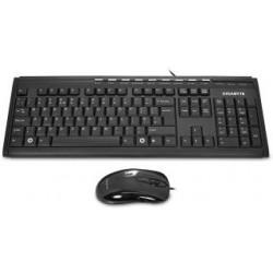 Zestaw przewodowy klawiatura + mysz Gigabyte GK-KM6150 czarny