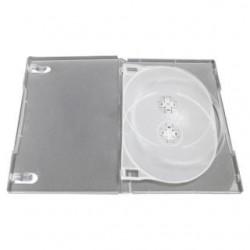 Pudełko Esperanza na 3 DVD z tray 14 mm 3121 bezbarwne matowe