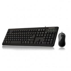 Zestaw przewodowy klawiatura + mysz Gigabyte GK-KM3100 czarny