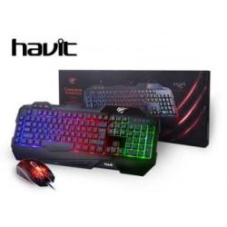 Zestaw przewodowy klawiatura + mysz HAVIT HV-KB558CM GAMENOTE
