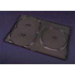 Pudełko Esperanza na 3 DVD 14 mm 3097 czarne