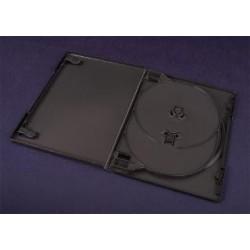 Pudełko Esperanza na 3 DVD z Tray'ą 14 mm 3090 czarne