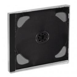 Pudełko Esperanza na 2 CD tray 3018 czarny