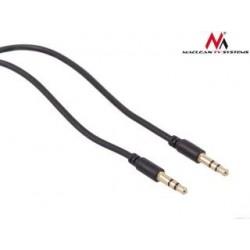 Kabel audio Maclean MCTV-815 miniJack 3,5mm (M) - miniJack 3,5mm (M), 1.5m Czarny