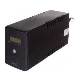 Zasilacz awaryjny UPS Digirus Line-Ineractive LCD 600VA/360W 1x12V/7Ah AVR 2xSCHUKO USB RJ11