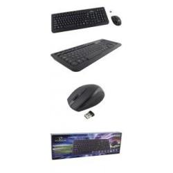 Zestaw bezprzewodowy klawiatura + mysz TITANUM USB 2.4 GH czarny