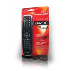 Pilot uniwersalny ELMAK BASIC 3w1 TV, SAT (również DVB-T), D